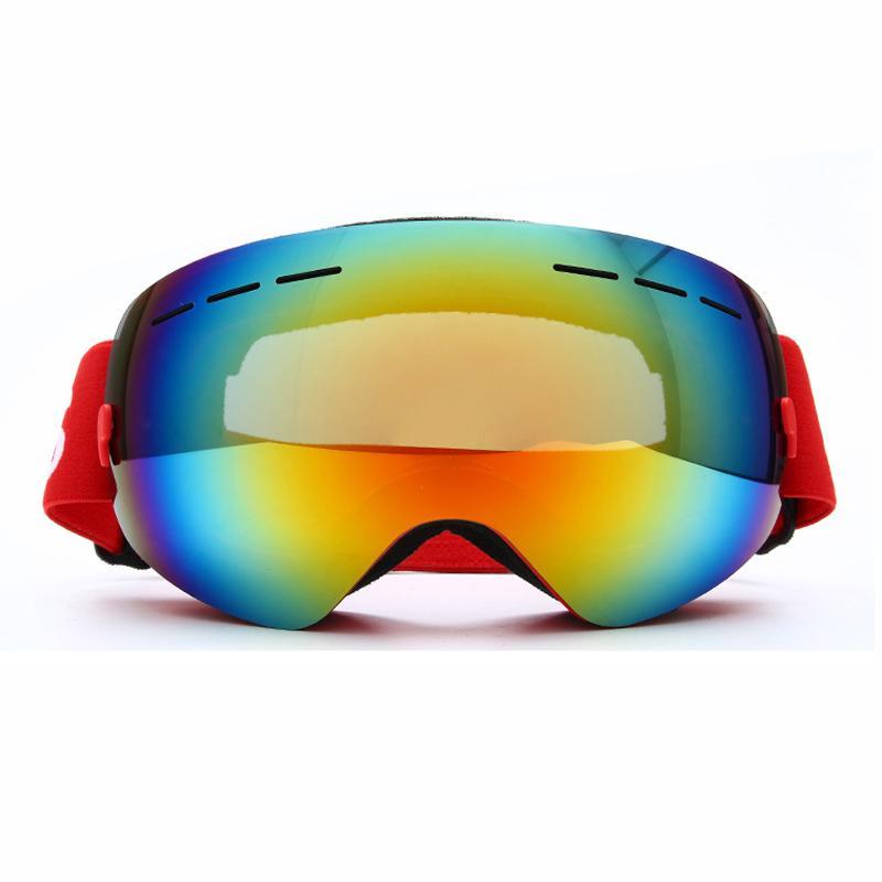 8fdd3dd3c64 Hot Ski Goggles Anti-fog Big Mask Skiing Eyewear Men UV400 Outdoor ...