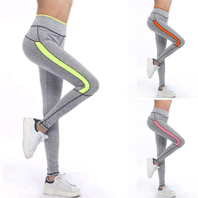 cb6372620 2019 Ladies Fashion Custom Spandex Leggings Gym Wear Cheap Stretchable Women  Fitness Running Yoga Pants Wholesale From Lovson