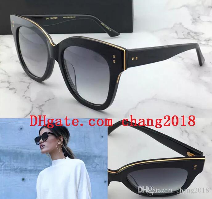 4059691816 Compre 2018 Marcas De Lujo Con Diseño De Gafas De Sol TRIPPER Encantadoras  Gafas De Gato Con Calidad De Protección Uv400 Gafas De Protección Con Gafas  ...