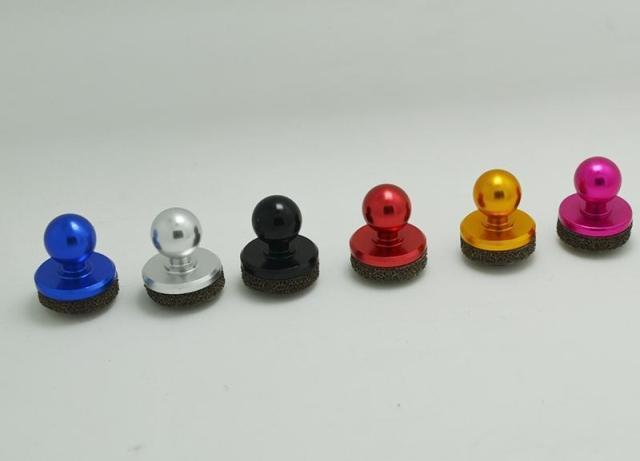 Hot Black Tamanho Pequeno Vara Joystick Jogo Joypad Para Tela Sensível Ao Toque de Telefone Celular Best Selling Mini Joystick