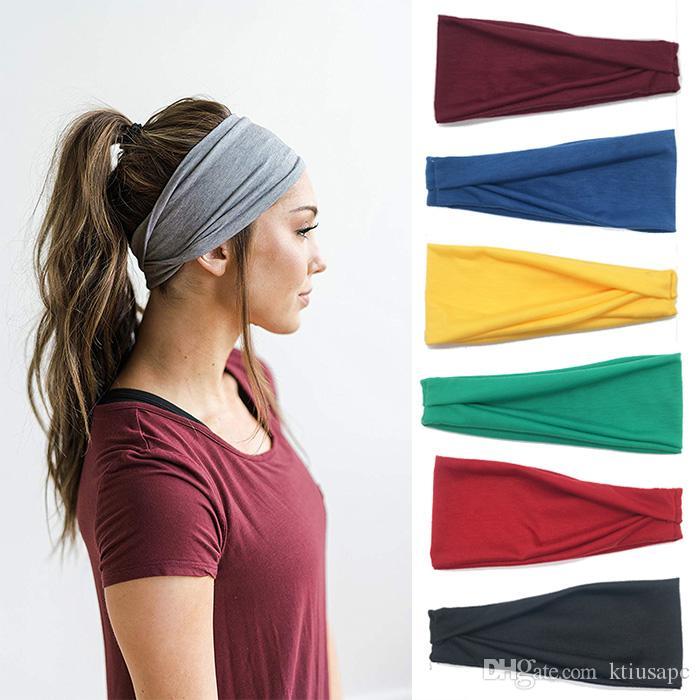 Headbands Men Women Mens Sweatband   Sports Headband Moisture Wicking  Workout Sweatbands Running 62186ca38c3