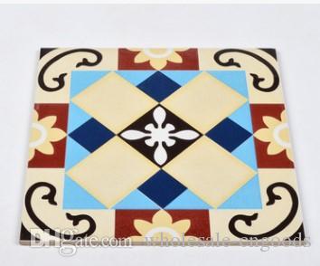 billig !!! Mosa-europäische Artantike-Persönlichkeiten der kleinen Blumenziegelsteinwohnzimmer-Küchenbadezimmer-Balkonbodenfliesen-Wandziegelstein 300mm * 300mm