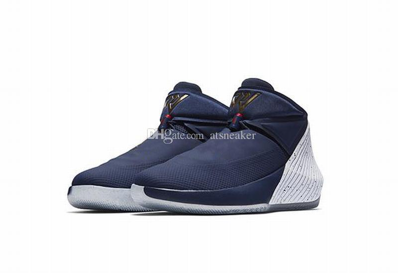 (With Box)Russell Westbrook Why Not Zer0.1 Tribut Basketball Shoes For Sale Blue Black Red Grey Orange Bred Cotton Shot Sneaker
