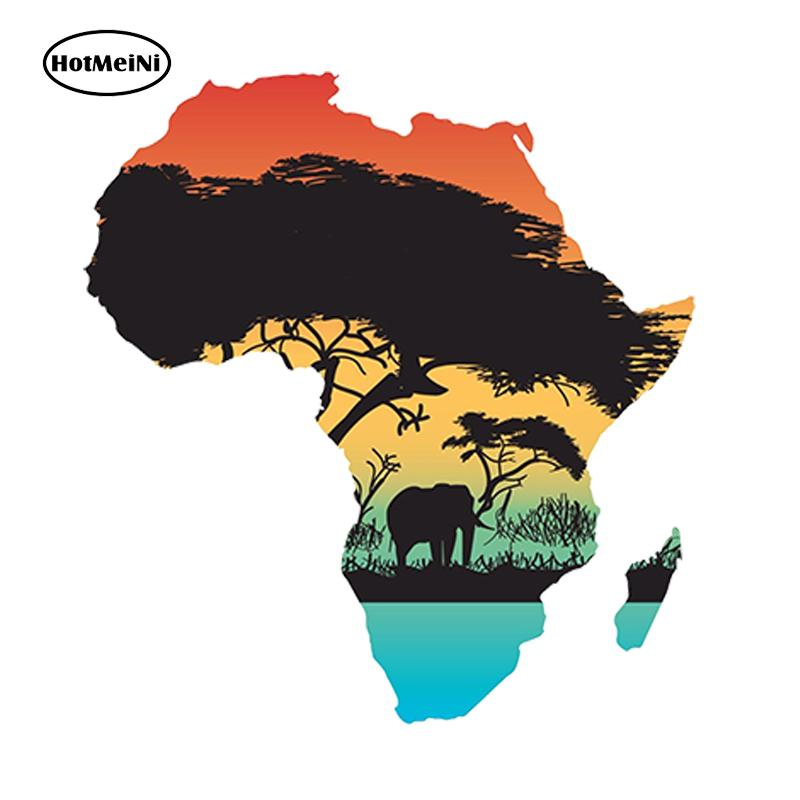 Wholesale Jdm Country Africa Map Flag Vinyl Decals Car Stickers