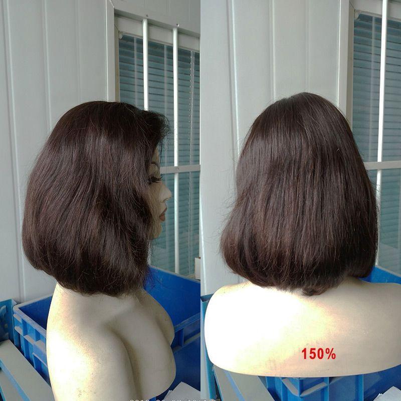 Bella Hair® Glueless Perücken Bob Cut Perücken Menschliches Haar Bob Full Spitze Perücke Für Schwarze Frauen Full Cuticle Kurze Bob Spitze Perücken