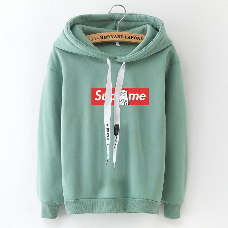 Russian Explosion Women S Hoodies Long Sleeved Hooded Pullover Casual Loose  Printed Letters Trend Sweatshirt Women Tops Female UK 2019 From Baica e27fc0f34b