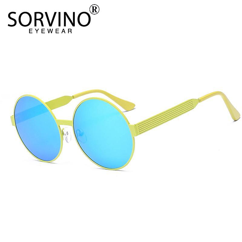 e891fdd5de2 Wholesale Retro Brand Slim Round Sunglasses Women Designer Vintage Lady Rose  Gold Rave Circle Sun Glasses Purple Blue Shades SP50 Sunglasses Uk  Polarised ...