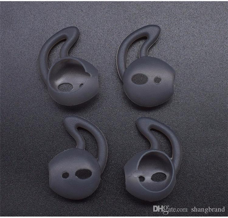 Yeni Varış kablosuz bluetooth airpods için kulak pedleri için iphone X 8 8 artı kulaklık silikon kulak kapaklar kulaklık kılıfı earpads eartips
