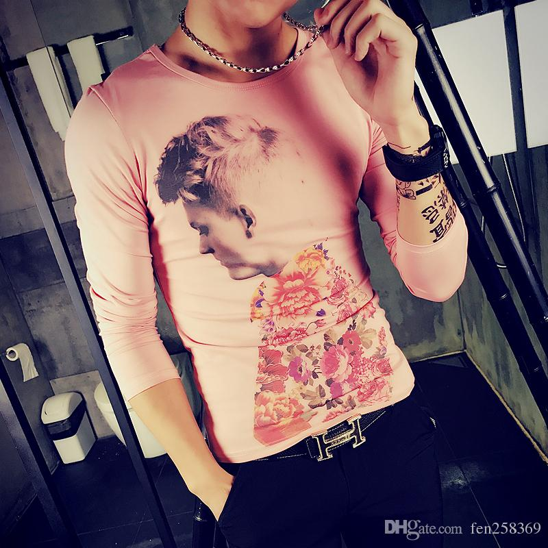 Hair Stylist Men\'S Tattoo Clothes Trend Personality 2018 Creative ...