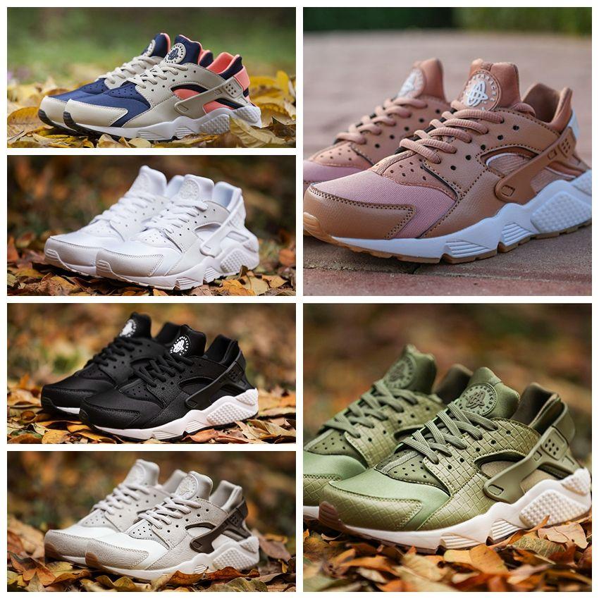 15f5ab0f1d18 2017 Air Huarache 1 Ultra Rose Gold Black Sports Running Shoes Men Women  Huraches Grey Huaraches Brand Trainers Huraches Sneakers Size 36 46 Running  Shoes ...