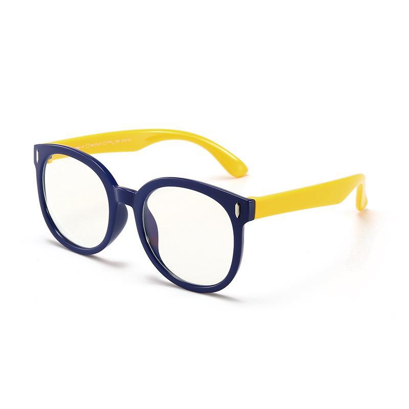 b0648229fe 2019 Children Anti Blue Optical Frames For Kids Custom Logo 2018 Light Eye  Glasses Baby Radiant Flat Mirror Silica Gel Frame For Boys And Girls From  Trip