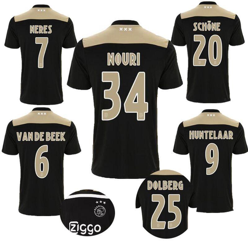 847f6bd90442a Calidad Tailandesa 2018 2019 Ajax Camiseta De Fútbol Sala KLAASSEN TRAORE  MELIK DIJKS EL GHAZI YOUNES 2018 Ajax Camisetas De Fútbol Sala Por  Jersey  home