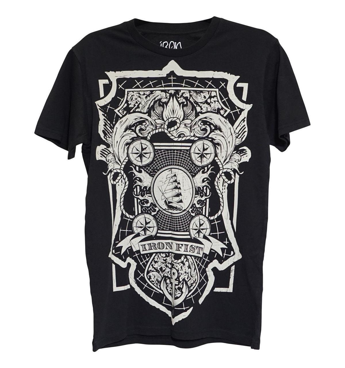 Iron Fist Tshirt Royal Bearings Men Tee All Us Sizes Shirt And