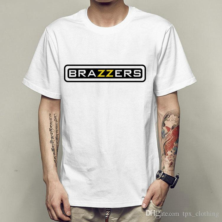 brazzers t shirt sexy short sleeve gown cool film company tees unisex clothing quality modal tshirt awesome t shirt designs tea shirts from tpx_clothing - Company T Shirt Design Ideas