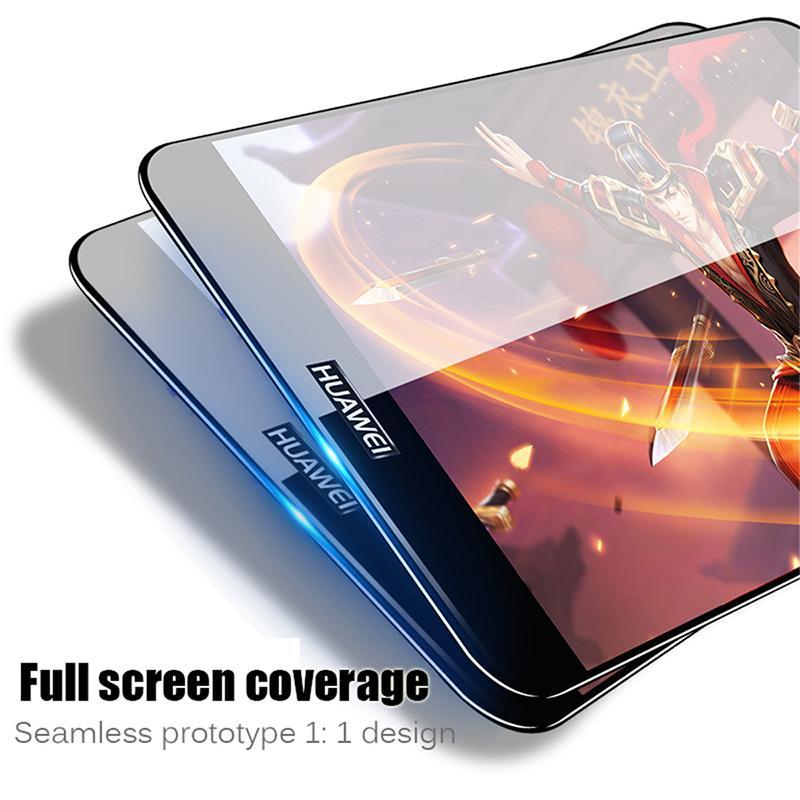 2ecdff721ce Protector De Pantalla De Cristal Vidrio Templado Para Huawei P9 Lite  Protector De Pantalla En Honor 8 9 P8 Lite 2017 Película Cubierta Completa  De Vidrio ...