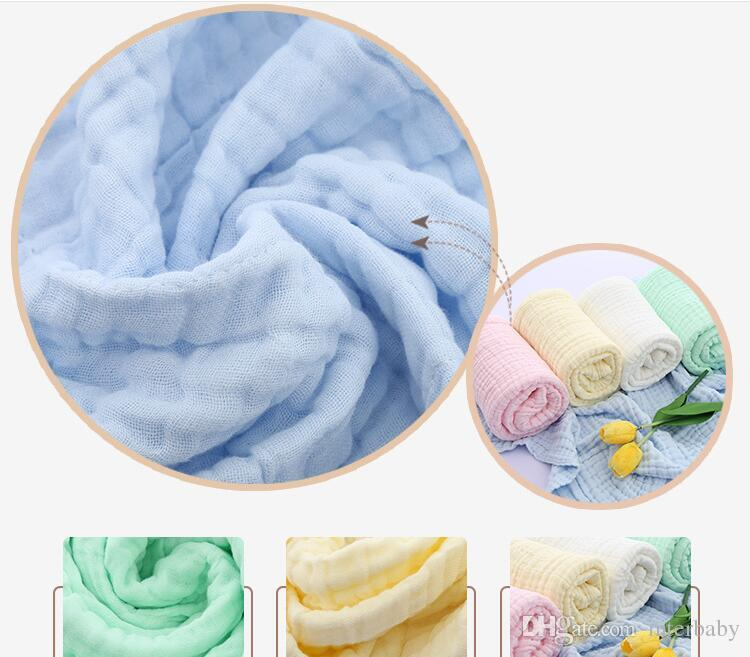 Baby Swadding Blankets Newborn Swaddles Wraps Kids Gauze Soft Bath Towels Fashion Nursery Bedding Parisarc Robes Quilt Photo Props B4114
