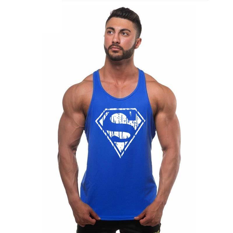 f287fc1f1e526 Bodybuilding!Professional Fitness Tank Tops Cotton Vest Paragraph  Bodybuilding Tank Top for Men Musculation Tank Tops Cheap Tank Tops  Bodybuilding!
