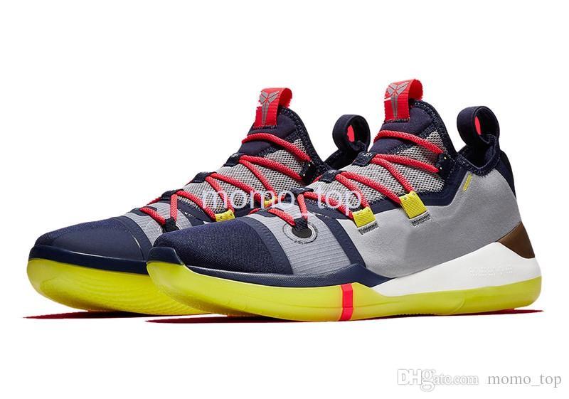 c23db0912 Compre 2019 Nuevo Kobe AD Mamba Day A.D. EP Sail Multi Color Zapatillas De  Baloncesto Para Hombre Chaussures Zapatillas De Deporte De Diseño Zapatos  Kobe ...