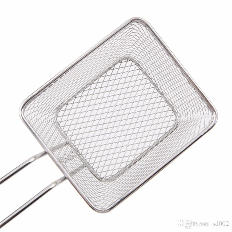 Mini Fry Baskets Kitchen Cooking Tool Metal French Fries Basket Strainers High Quality 5 5br C R