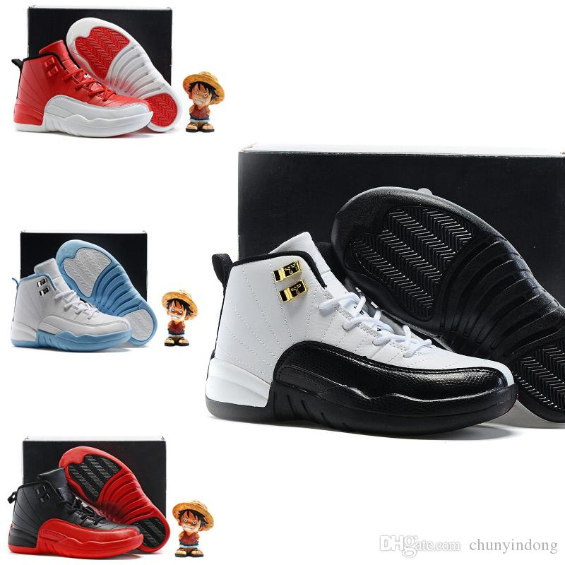 the latest 0fd42 bee41 Acquista Nike Air Jordan 6 11 12 Retro Scarpe Da Basket Economici XII 12  Donna Prem HC GG GS HEIRESS Osso Oro PLUM FOG 12s Sneakers Da Bambino  Gioventù ...