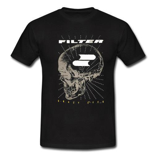FILTRE T-shirt de groupe de rock industriel américain Black Light Burns XS S M L XL 2XL