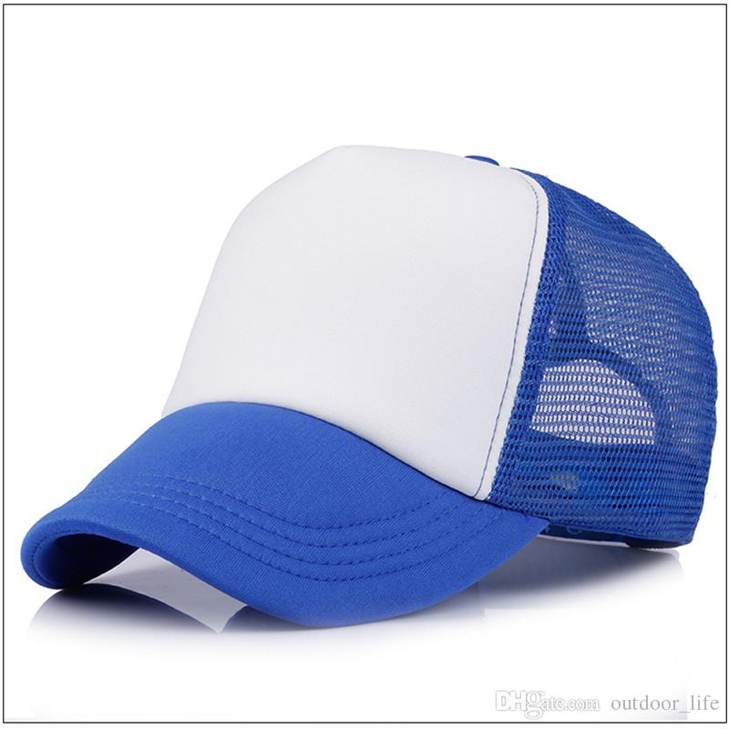 2018 High Quality Truck Driver Cap Adult Cat Hat Blank Truck Driver Cap Snapback Hat Custom Logo