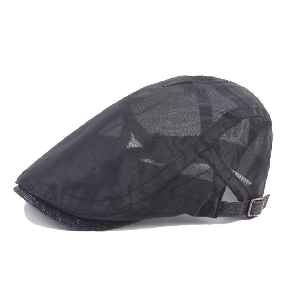 Compre 2018 Nuevos Sombreros Cabbie Casuales Gorra De Newsboy Cap Sombrero  Irlandés Newsboys Gorras Para Hombres Y Mujeres Red Boina Transpirable Fina  A ... 02e27730e4c