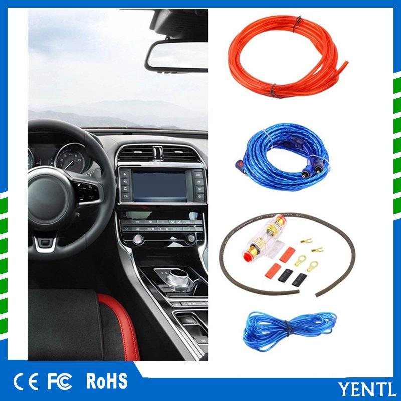 free shipping 800w 8ga car audio subwoofer amplifier amp wiring fuse holder wire cable kit hot selling Electrical Fuse Schematic