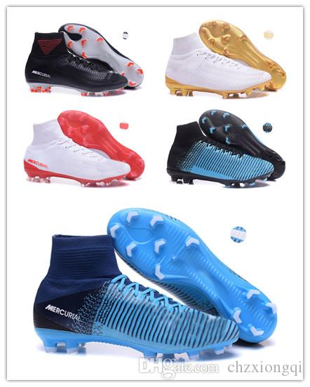 7944a1ab8fb574 2017 Mercurial Superfly V Ronalro FG CR7 Cristiano Ronaldo Kids Youth  Football Boots Soccer Boots Men Soccer Shoes Women Soccer Cleats Cool Shoes  Naot Shoes ...
