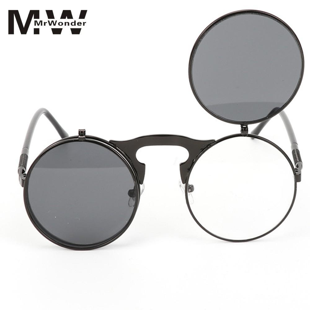 3fbd93d6be55 MISSKY 2018 Brand DesignMetal Frame Sunglasses With Upturning Cover Street  Snap Party Eyewear Birthday Gift Ornament ER0 Cheap Designer Sunglasses ...