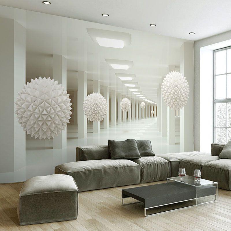 Acheter Personnalisé Mur Mural Grande Peinture Murale Moderne 3D ...