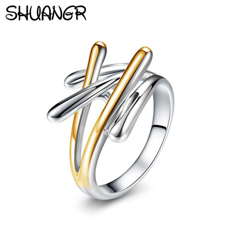 engagement for stainless rings products color lover couple meaeguet jewelry steel wedding romantic bands party gold