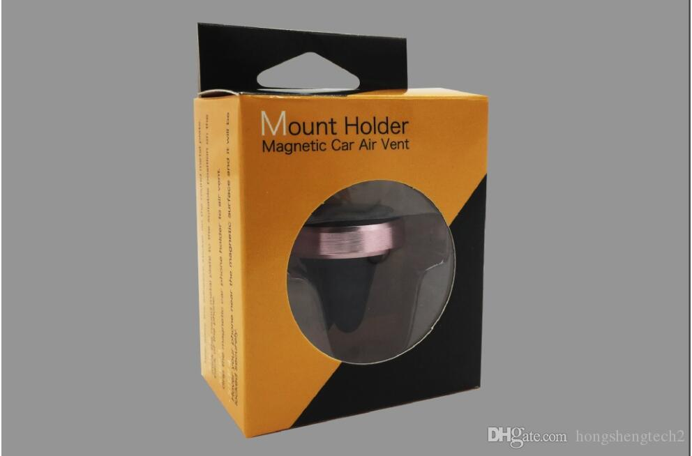 High Quality Newest Strong Magnetic Car Air Vent Mount Universal Phone Holder With Retail Package Cradle