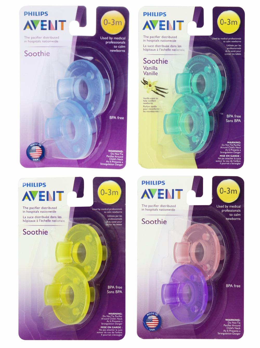 2018 Avent Pacifier Orthodontic Soother Soothie Nipple Bpa Philips Single Freeflow 0 6m White Free Dummy 3m From Cover3085 3566