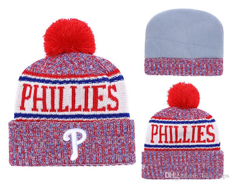 2019 Hot Sell Winter Beanie Knitted Hats PHILLIES Beanies Hats Basketball  Baseball Football Winter Beanies Hats 1000+ From Best caps 79e66729080