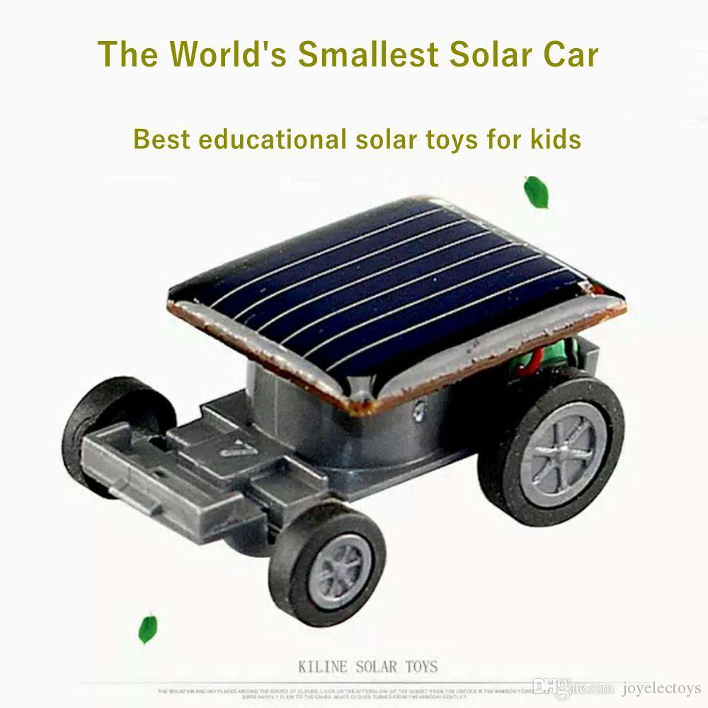 Enfants Voiture Petite Éducatif Pour Plus Énergie De Anniversaire Course D Mondial Jouet Solaire Cadeau EHI2D9YW