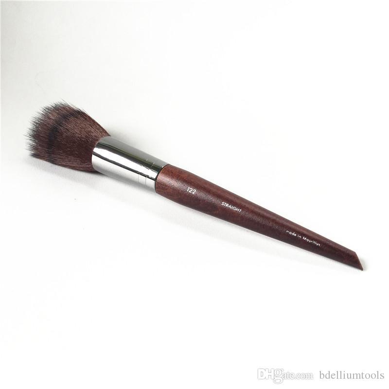 MUFE BLENDING PUNK PUNK BRUSH 122 - Miscelatore a doppio strato svasato fondotinta in polvere - Pennelli da trucco di bellezza Blender