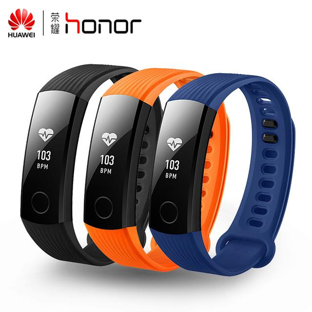 Auf Lager! Neue Original Huawei Ehre Band 3 Smart Armband Swimmable 5ATM 0,91