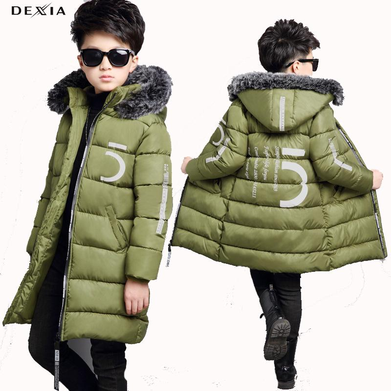 97f8104effd0 DEXIA 2018 New Winter Children Clothing Baby Boys Casual Cotton ...