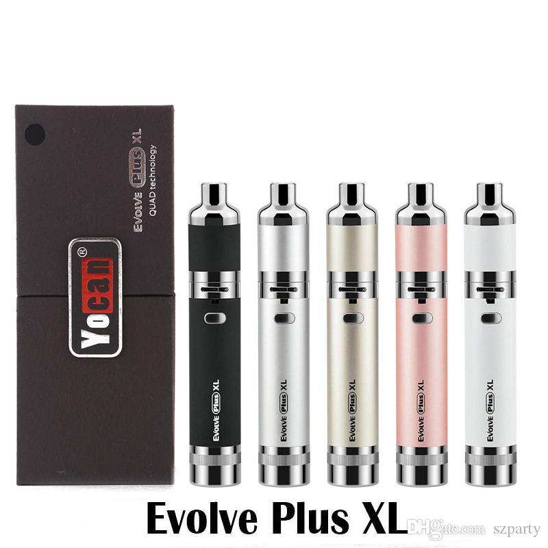 Загруженный Evolve-D Evolve Plus XL Hive 2,0 магнито Pandon Starter Kit воск сухой травы Vape Pen Испаритель густое масло / воск Форсунки