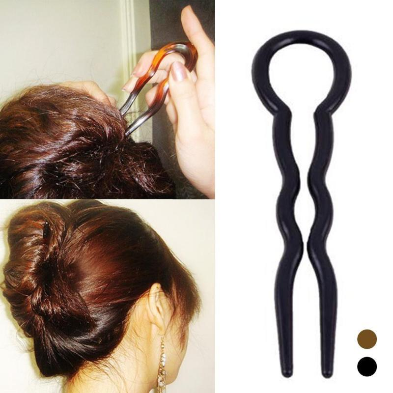 Set Diy Hair Styling Clip Tool French Twist U Shaped Waved Hair
