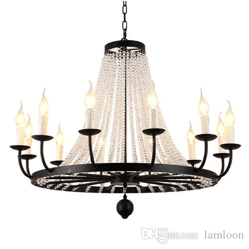 American style crystal chandelier for porch aisle corridor balcony american style crystal chandelier for porch aisle corridor balcony stairs home creative hall cloakroom retro single crystal chandeliers lamp crystal aloadofball Choice Image