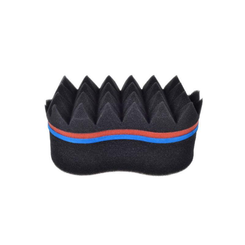 Barber Hair Sponge Brush Make Dreads Locking Twist Wave DIY Tool Coil Afro Curl Magic Hair Style Brush