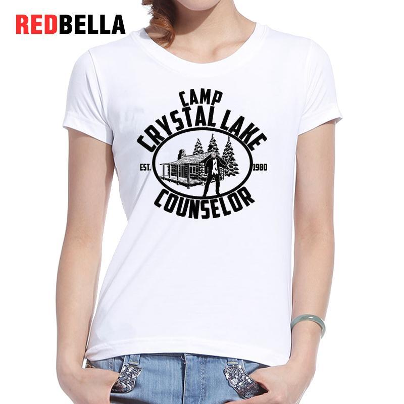 781fc82af7b Women S Tee Redbella 1980 Vintage White Cotton Horror Tee Shirt Femme  Hipster Figure Fashion Women Tshirt Art Scenery Design Harajuku Tops Crazy  T Shirts ...