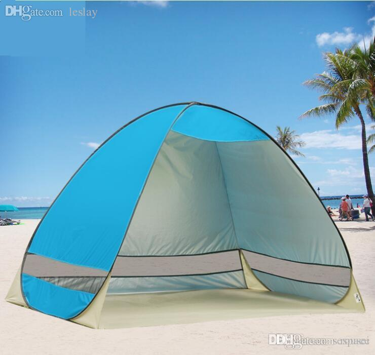 Wholesale Outdoor Cheap C&ing Waterproof Rain Proof Sun Shelter Awnings Anti UV Semi Open Half Open Beach Sunshade Tent Shelter Dog Shelters From Rousei ... & Wholesale Outdoor Cheap Camping Waterproof Rain Proof Sun Shelter ...