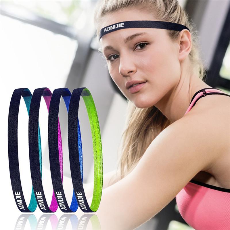 Thin Sport Outdoor Football Yoga Running Women Men Yoga Hair Bands Sports  Headband Anti Slip Elastic Sweatband Bandage UK 2019 From Annuum 0e4d74ca1466
