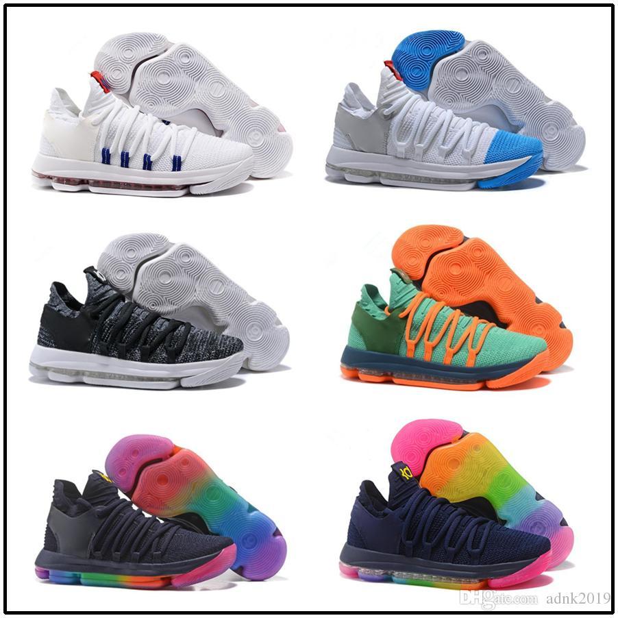 scarpe kd 10 uomo blu