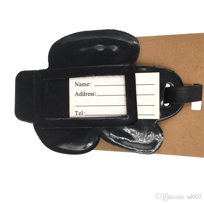 Cactus Étiquette De Bagages Valise Sac Nom Adresse ID Étiquette Silicone Carte De Bus Titulaire Couverture Vente Chaude 1 7lb C
