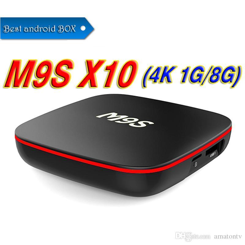fb5755f1800 Factory Sale Best M9S X10 Smart Set Top Box Android 7.1 TV Box IPTV RK3229  Quad Core 1GB+8GB Better MXQ Pro 4K S905W S912 Best Tv Box Sets Tv Internet  Box ...