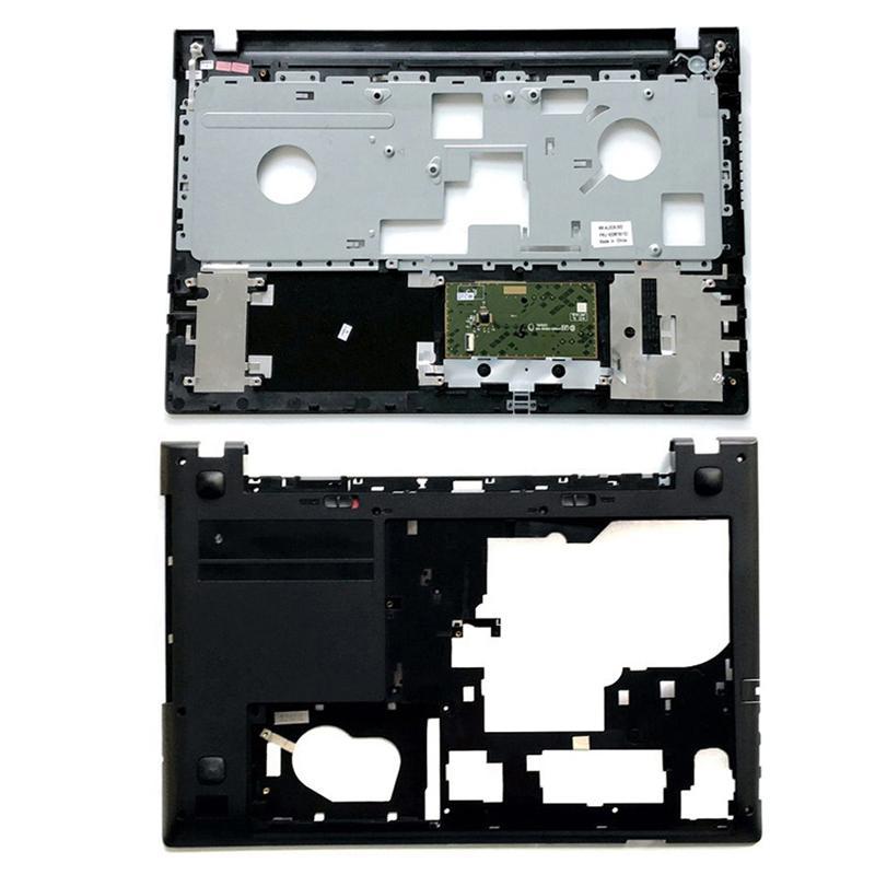 Genuine NEW Laptop Base Shell Keyboard Bezel For Lenovo IdeaPad S510P Palmrest Bottom Cover Upper Case LS51P Black 90203867